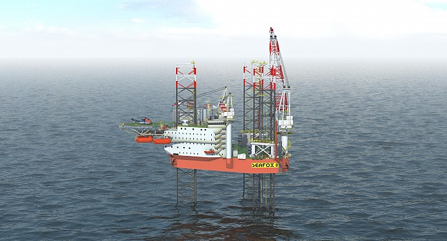 Keppel partners Seafox on study to build one of the world's first jackups with P&A features