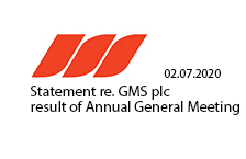 Statement re Gulf Marine Services PLC - Results of Annual General Meeting