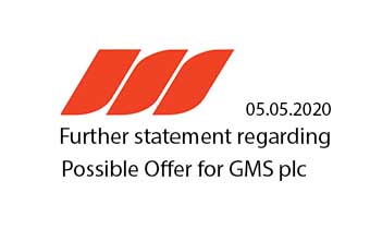 "Further Statement regarding Possible Offer for Gulf Marine Services PLC. (""GMS"")"
