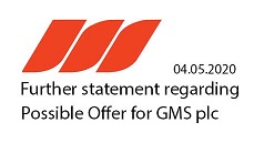 "Further Statement regarding Possible Offer for Gulf Marine Services PLC (""GMS"")"